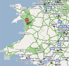 Tyddyn mawr guesthouse snowdonia location for Location b b france